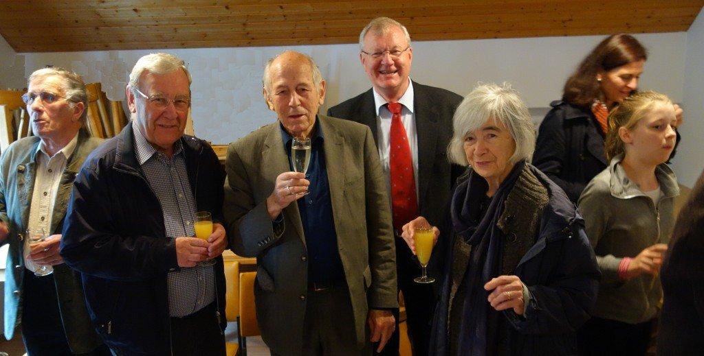 Albert Waldorf feiert seinen 80. Geburtstag