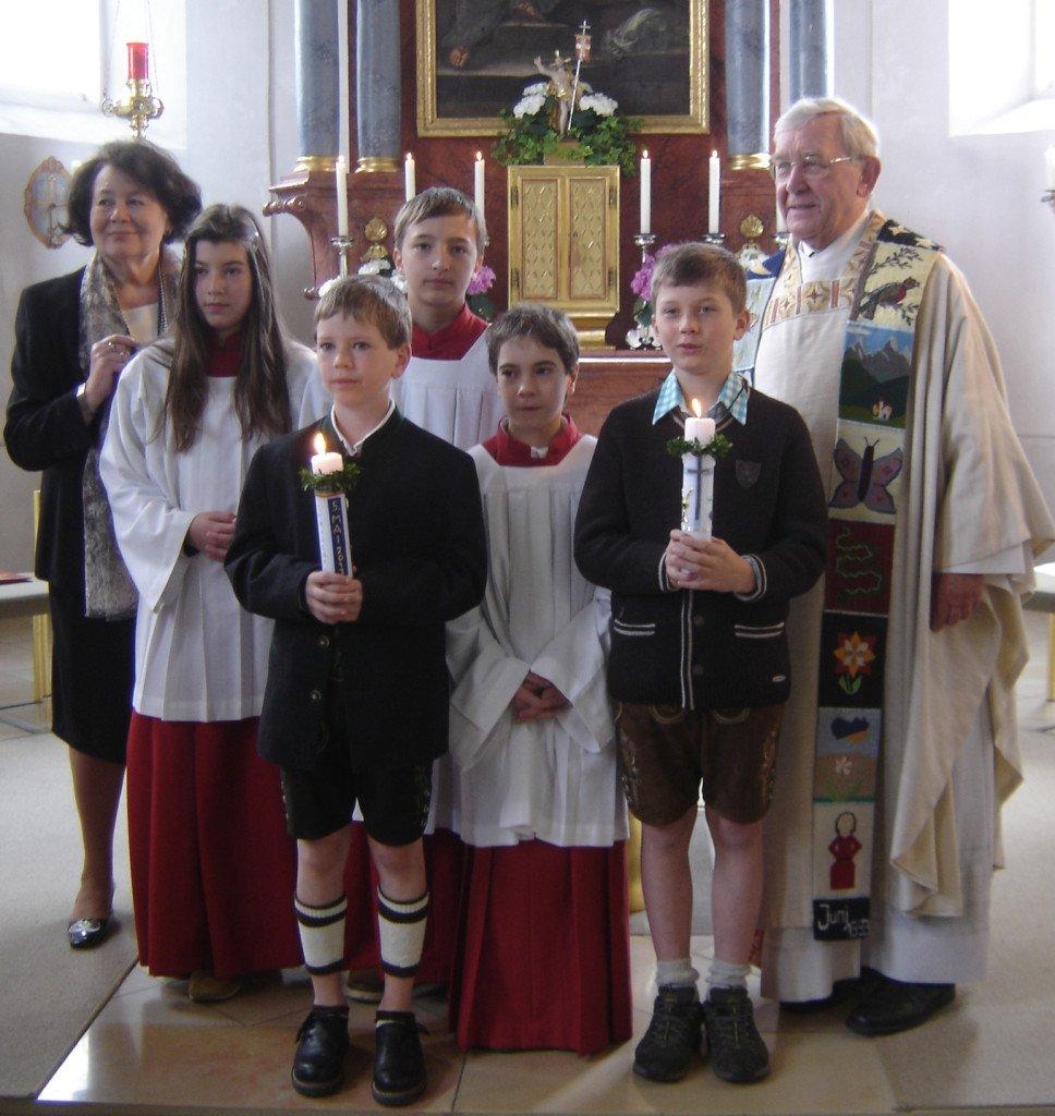 Erstkommuniontag in Wangen