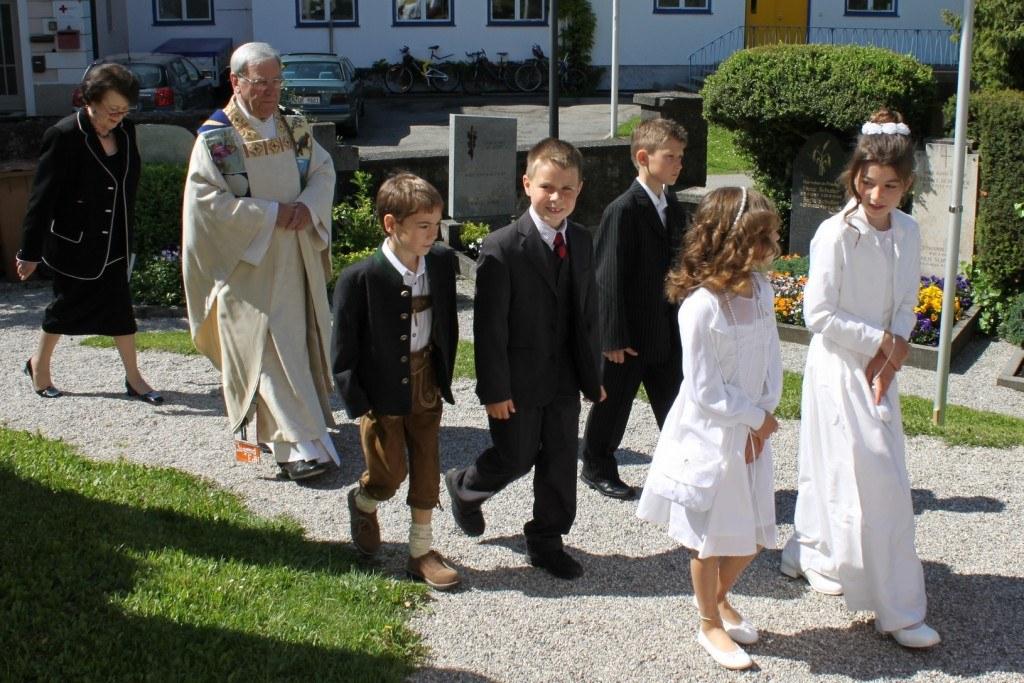 Erstkommunion in Wangen