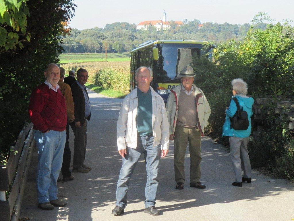 Kloster Attel - weithin sichtbar im Inntal