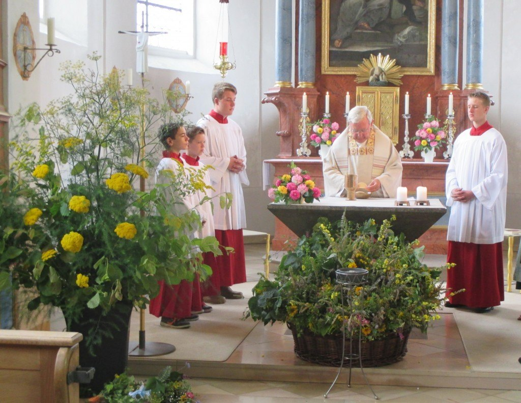 Festgottesdienst zum Himmelfahrtstag