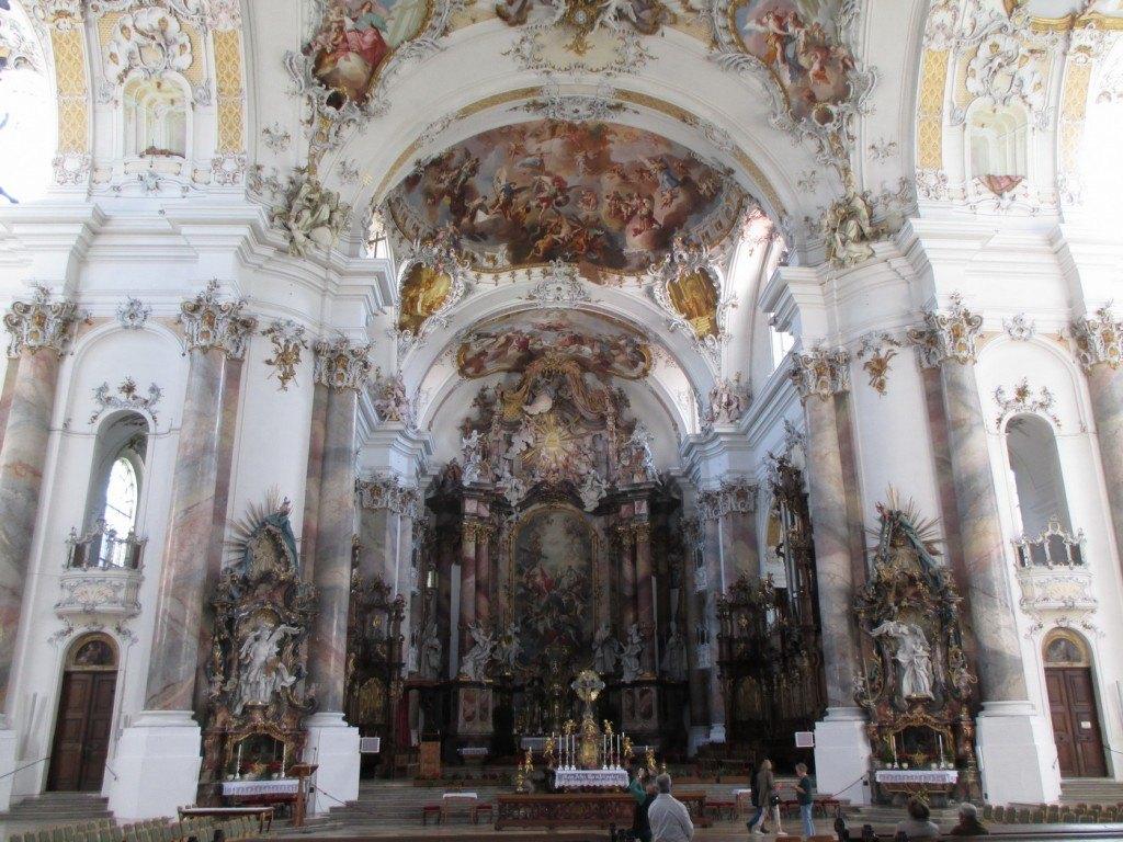 Die Klosterkirche in Ottobeuren