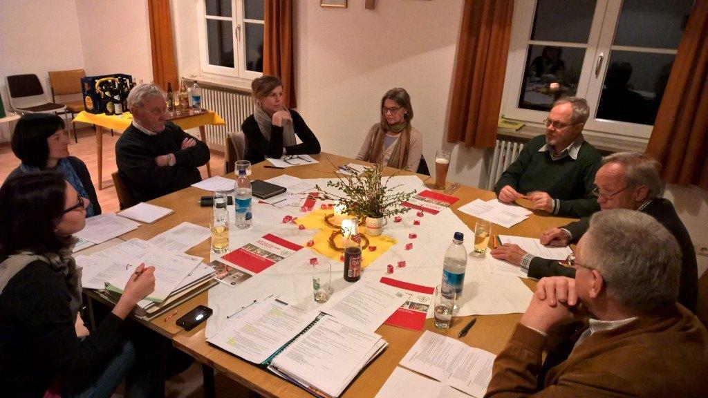Viele Themen hatte der Pfarrgemeinderat bei seiner Frühjahrssitzung auf dem Tisch