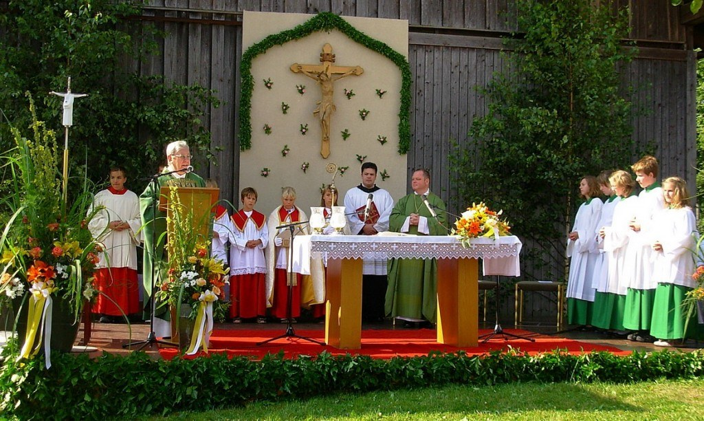 Festgottesdienst zur 1000 Jahr Feier in Wangen